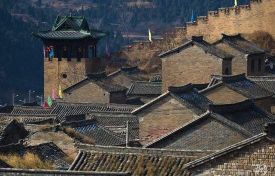 中国北方第一明代古城堡 山西湘峪古堡重获新生图片