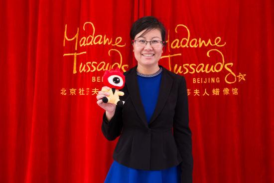 北京杜莎夫人蜡像馆总经理王锐
