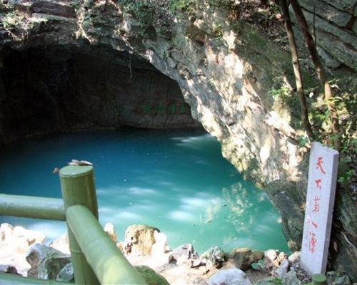微博 2014年05月14日14:37       玉女山庄,坐落在张公洞和灵谷洞之间