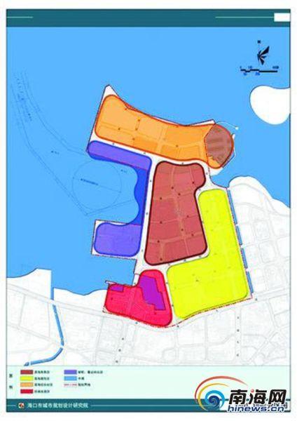 海口市海口港秀英片区将打造滨海商务综合区