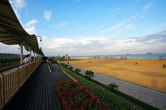 ... 水公园 金山沙滩、三甲港海滨公园_新浪旅游_新浪网