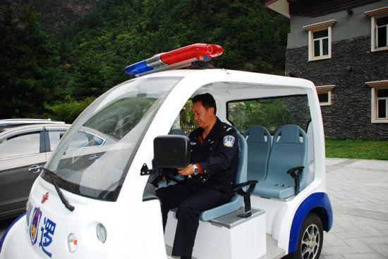 景区治安巡逻车