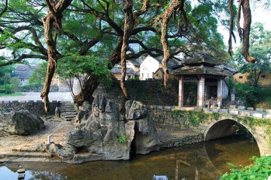 黄姚的小巧流水 图源:黄姚景区