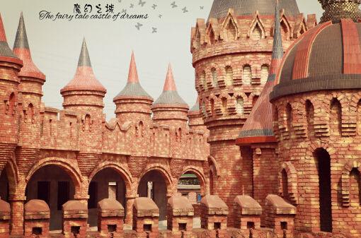 高贵城堡画法步骤图解