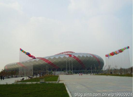 新浪旅游配图:大庆奥林匹克体育场 摄影:海萍薇