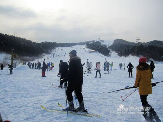 千山滑雪场(来源:新浪博客思宝宝)