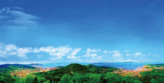 新浪旅游配图:獐子岛 图片由大连长山群岛旅游有限公司