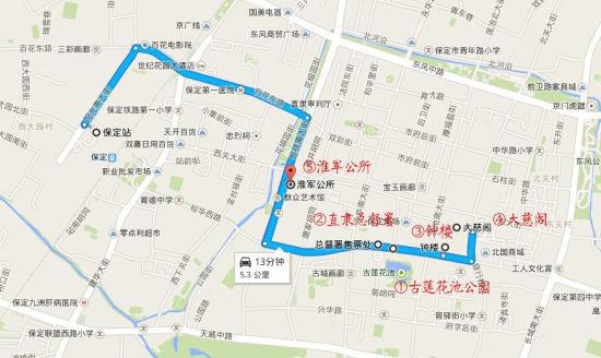 旅行路线图