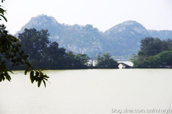 星湖湿地是典型的岩溶湖泊型湿地 作者:缀青 图片来源:新浪博客