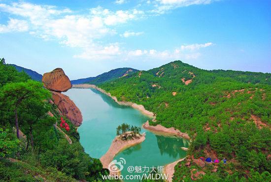 新浪旅游配图:铁寨风景区 图片来源:@魅力大悟
