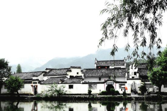 水墨画一般的宏村