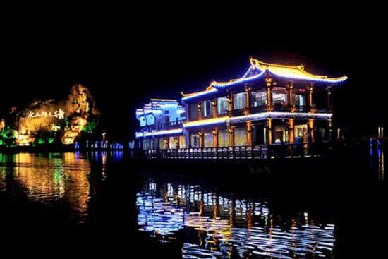 新安江夜景