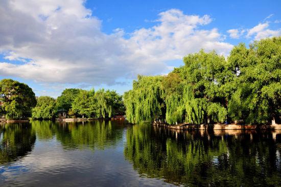 昆明翠湖(图片来源:图虫摄影社区 醉落泊)