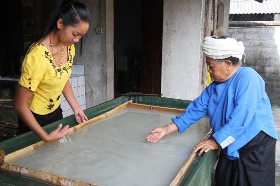 非物质文化遗产――耿马芒团傣族手工造纸