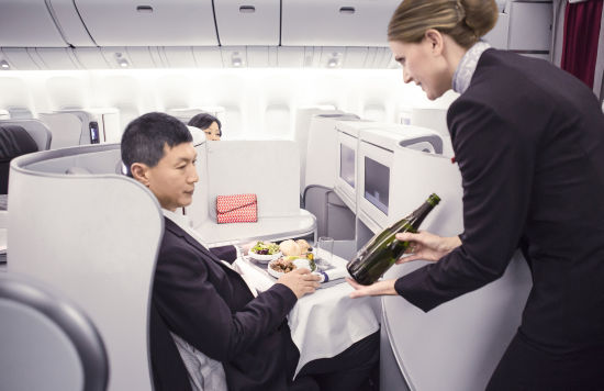 法航空中美食之旅