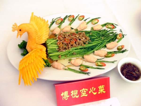 桂花银虾饺