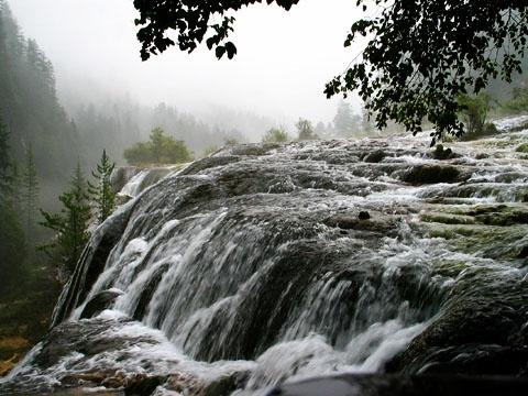 九寨沟最美的珍珠滩瀑布