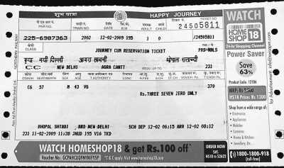 印度火车票百年实名制没有黄牛党很少出现一票难求(图)