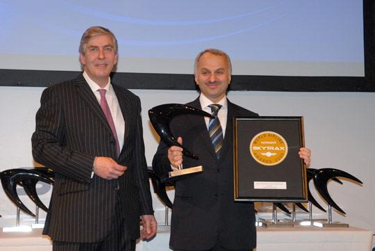 土耳其航空荣获Skytrax南欧最佳航空公司大奖