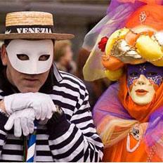 科隆狂欢节:化妆大游行