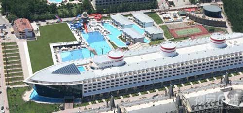 """组图:土耳其""""泰坦尼克号""""酒店诞生"""