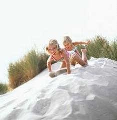滑沙的2种玩法