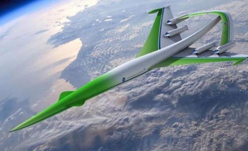 美国设计绿色超音速飞机 2035年可游太空