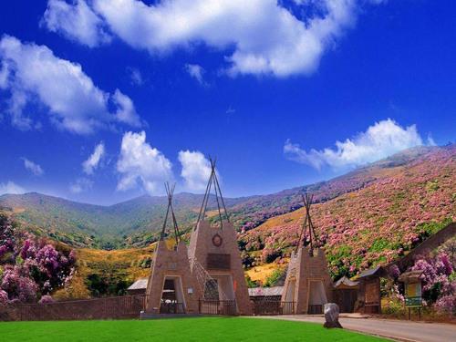 攀西大裂谷格萨拉生态旅游区