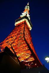 夜晚的东京塔