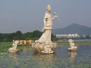 盐城历史文化古迹景点-江苏南京4A级景区玄武湖景区图片