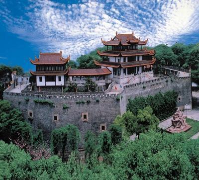 中国湖南长沙4a级景区长沙天心阁-_湖南景点_旅游景点