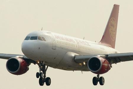 飞行中的空中客车A320