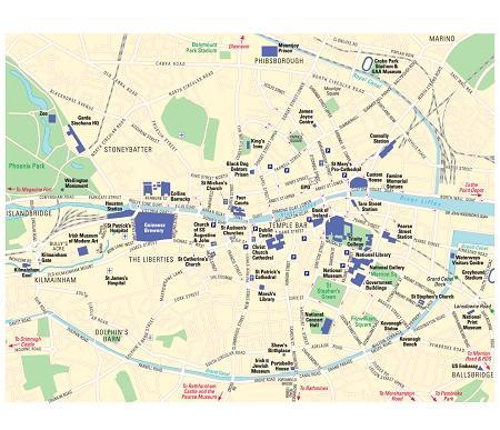 都柏林地图