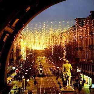 班霍夫大街夜景