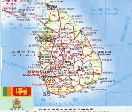 斯里兰卡地图_新浪旅游