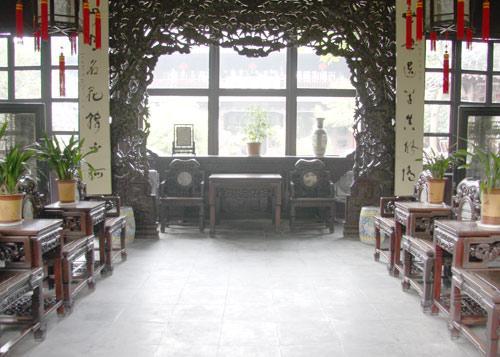 个园里精致的房间