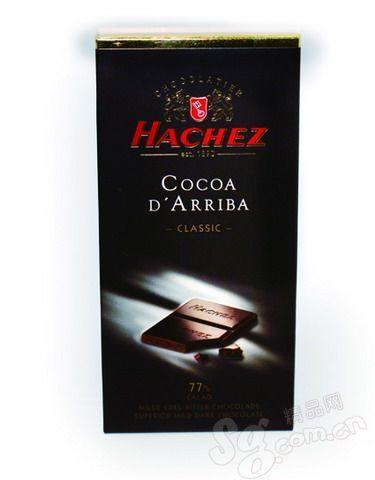 莎罗黑巧克力排块