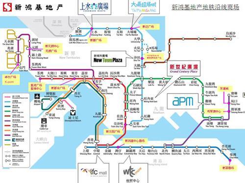 双面香港之旅小帖士:乘地铁畅游各大商场(图)