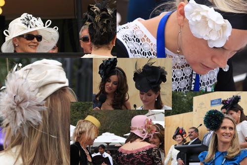 墨尔本的女士,出席盛会,总会精心装扮。