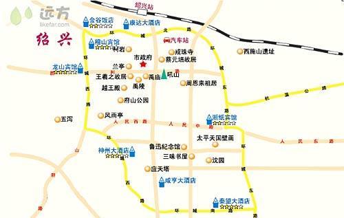 慈溪公交地图高清版