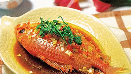 竹笋红鱼山海味