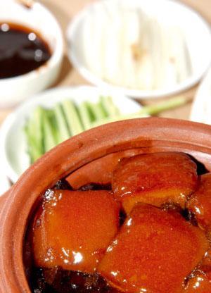 红烧肉是上海菜的代表之一