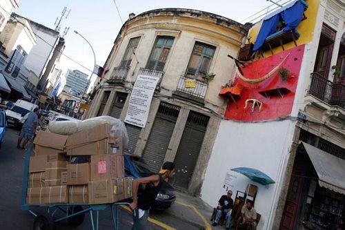 里约热内卢市中心的街巷