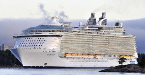 """世界最大、最豪华的邮轮""""海洋绿洲""""号(Oasis of the Seas)"""