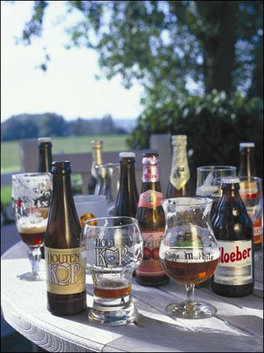五花八门的啤酒种类