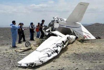 秘鲁小型飞机失事 6名乘客和1名飞行员死亡(组图)