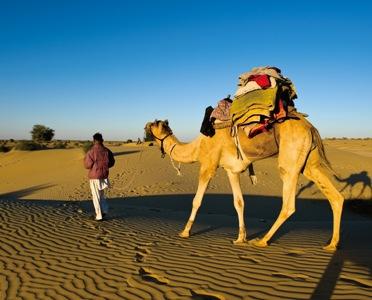 沙丘光线最棒的时候