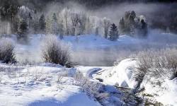 冬日的大提顿 银装素裹冰雪风光