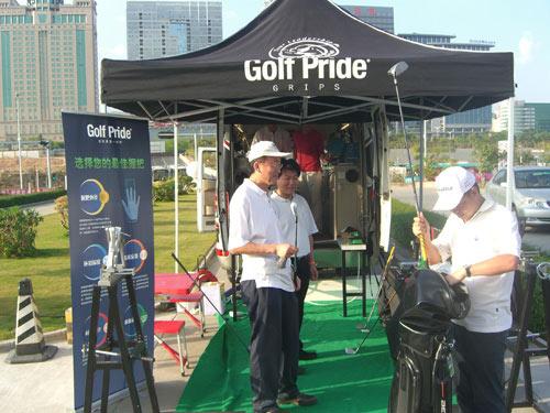 DG高尔夫为球友提供现场服务