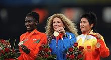 周春秀摘铜创历史 首枚中国马拉松奥运奖牌